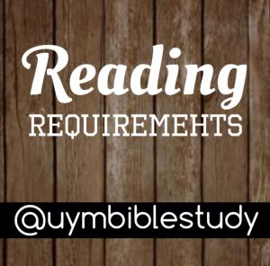 reading requirements