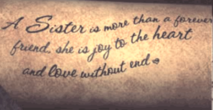 Sister quote amy g